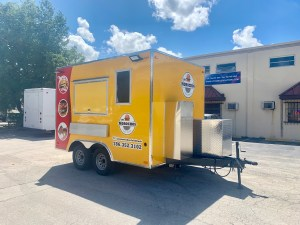 Concession trailer 12 ft