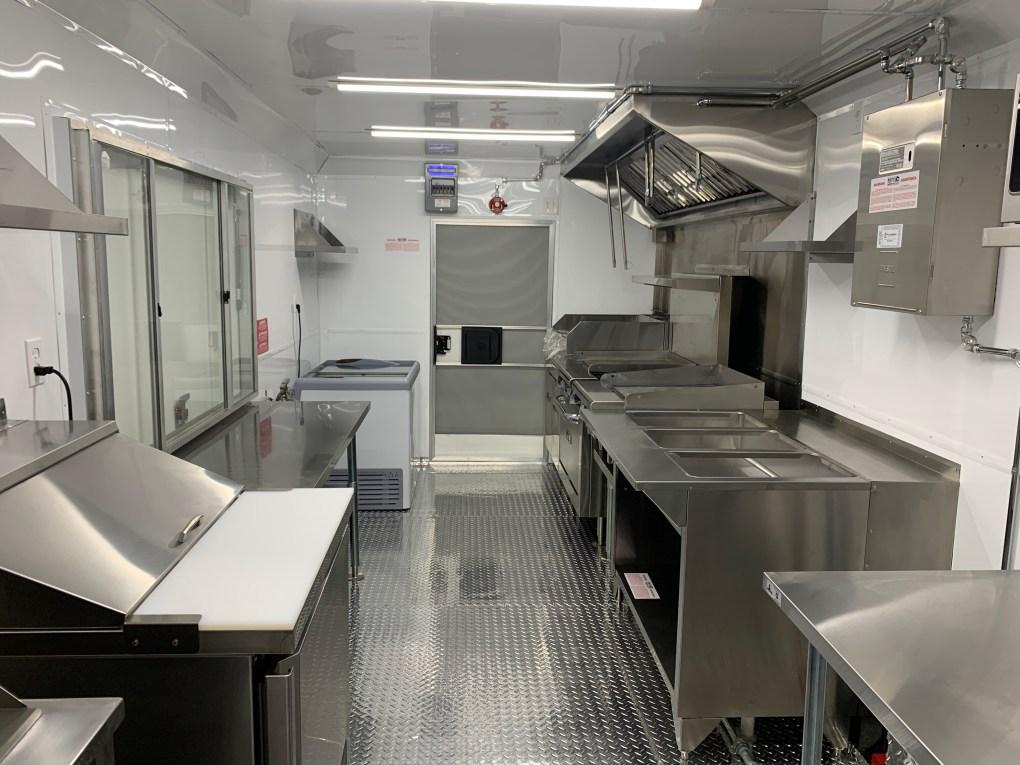 kitchen for mobile trailer