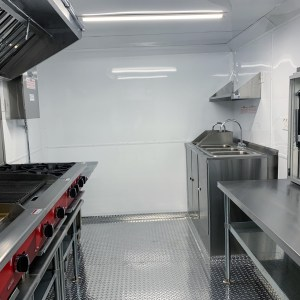 kitchen for a concession trailer