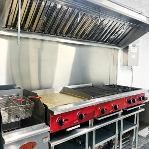 kitchen for concession trailer