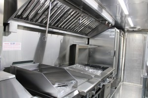 Food truck kitchen inside for sale