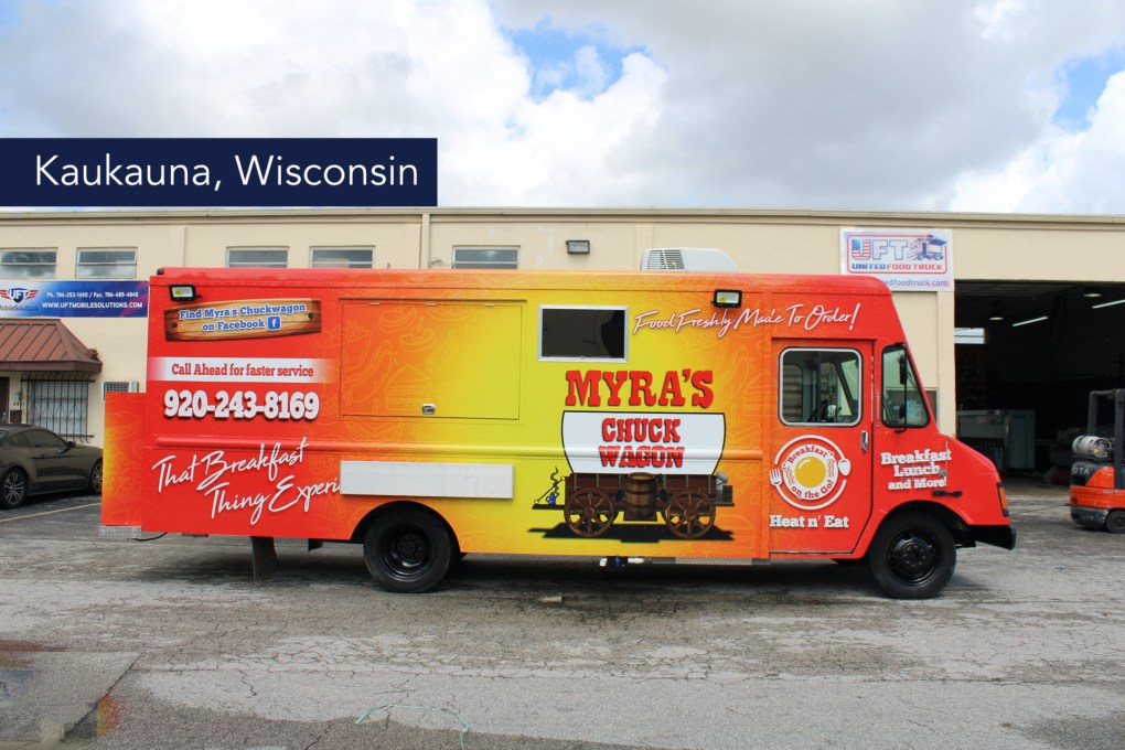 Myra's Food Truck at united food truck