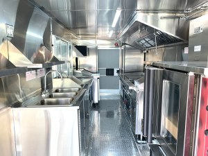 mexican food truck kitchen
