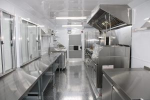concession trailer kitchen inside