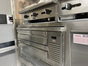 Hibachi food truck kitchen