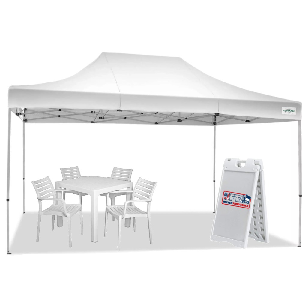 canopy tent for food truck