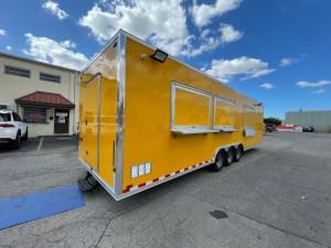 huge concession trailer