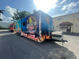 over the top cafe & catering trailer