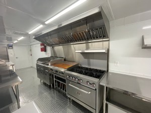 container kitchen inside