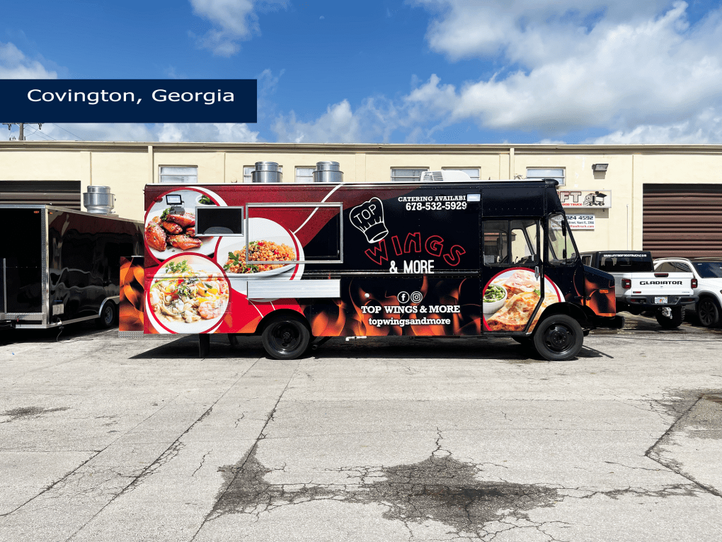 wings food truck for sale