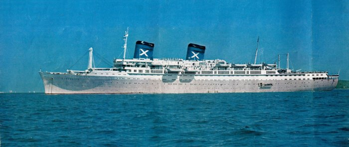 The Australian maiden - SS Australis 1964 -1978