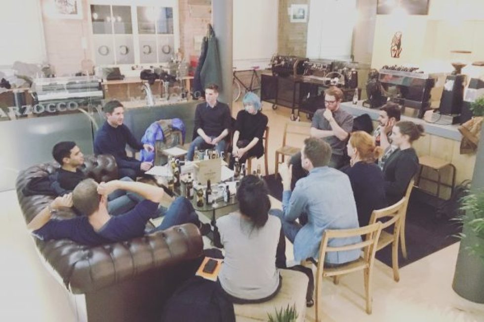 United Baristas Roundtable at La Marzocco, London, November 2016