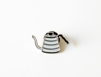 Buono Pouring Kettle Enamel Badge