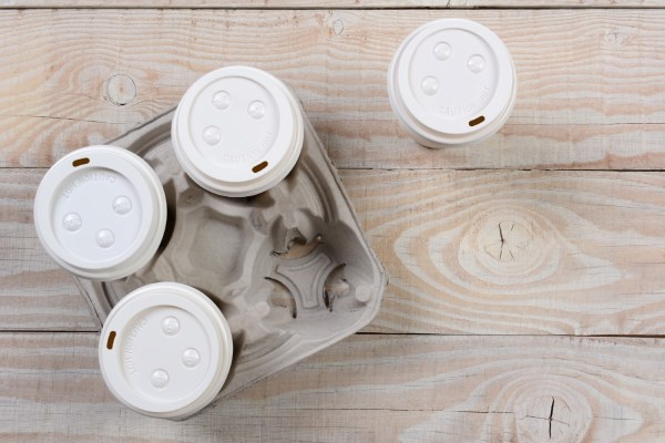 How good is your knowledge about recycling? Which of these takeout coffee packaging items can actually be recycled?