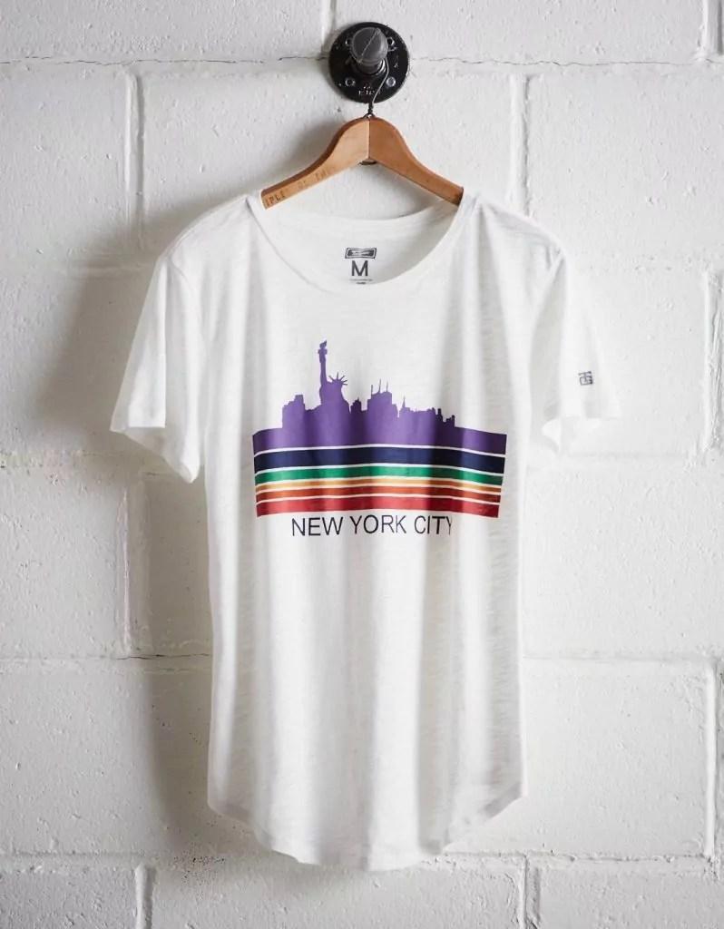 taylor swift reputation tour outfit ideas new york city skyline t shirt