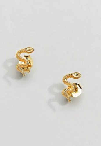 taylor swift reputation tour outfit ideas asos kingsley ryan gold plated snake earrings