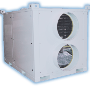 150kw portable heating unit
