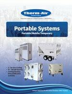 Portable brochure cover