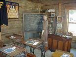 one-room school house