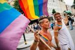 Gays in parade