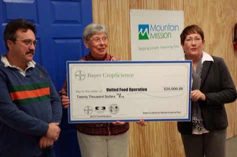 Bayer Corp donates to United Food Operation