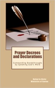 Prayer Decrees on Pleading the Blood of Jesus