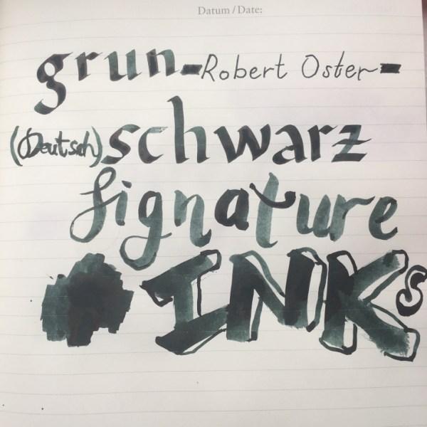 Grun Schwarz