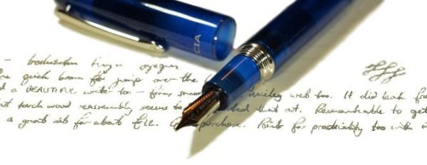 Taccia Spectrum fountain pen review | United Inkdom