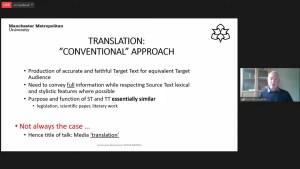 Karl McLaughlin-Media translation-SeminarioBinacional-MMU-FESA-UNAMUK
