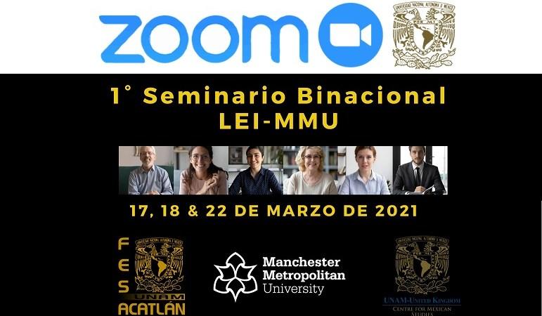 Binational seminar. English teaching. FES Acatlán-Manchester Metropolitan University