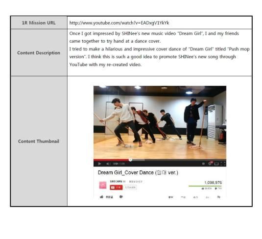 SMTOWN, SM Entertainment, Contest