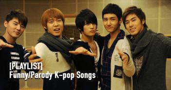Funny, Parody, K-Pop, Playlist