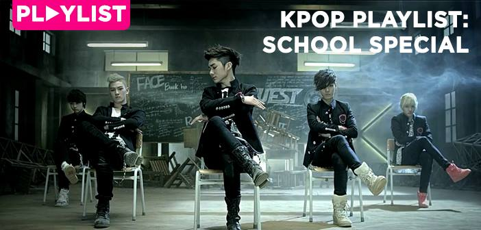 School, K-Pop, Playlist, NU'EST