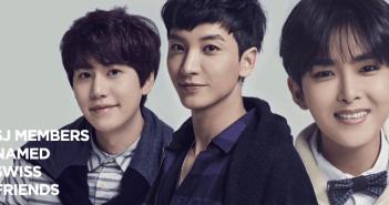 Super Junior. Switzerland, Kyuhyun, Ryeowook, Leeteuk