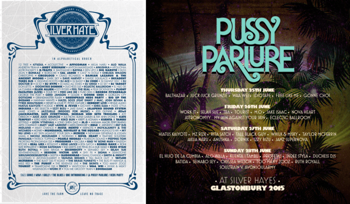 Glastonbury Silver Hayes & Pussy Parlure line up