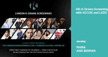 KCCUK, K-Drama, Screenings, June, Big Man, Mama