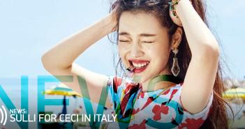 Sulli, f(x), Italy, CeCi, Magazine