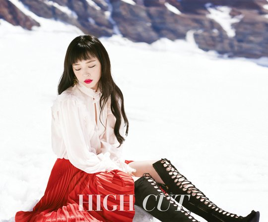Sulli High Cut 3
