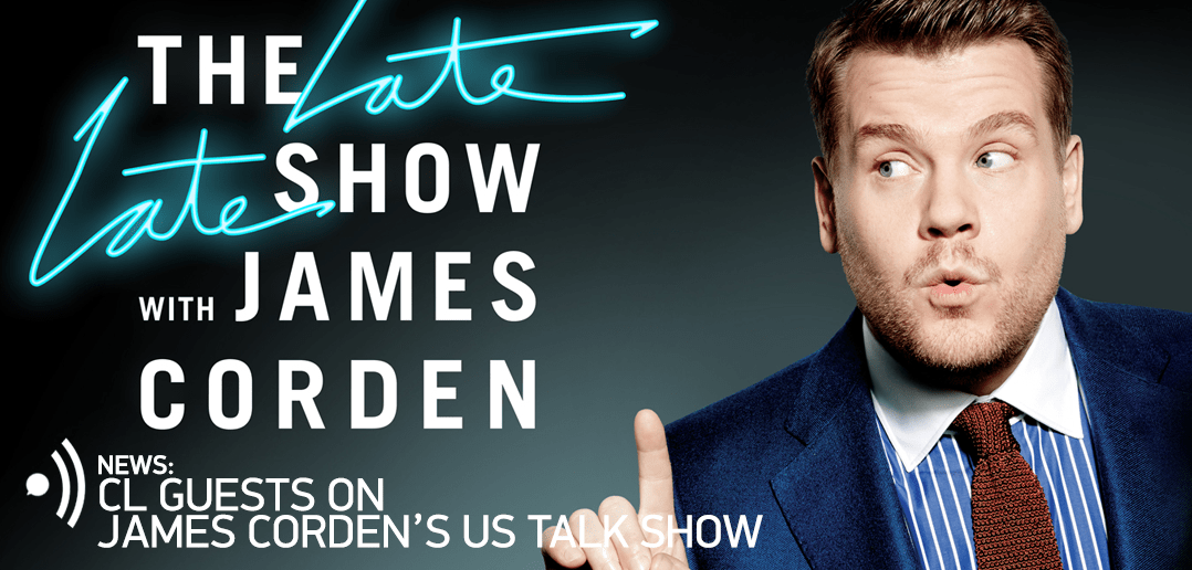 The Late Late Show, James Corden, CL,
