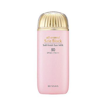 Missha All-Around Safe Block Soft Finish Sun Milk SPF 50+/PA+++