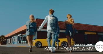 KARD, GET THE LOOK, Style, MV, Fashion, Hola Hola