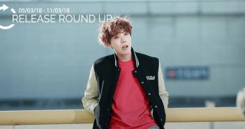 Release Round Up. MAMAMOO, Heize, Gaeko, J-Hope, BTS, Wanna One, Jung Ilhoon, Suho, Jane Jang