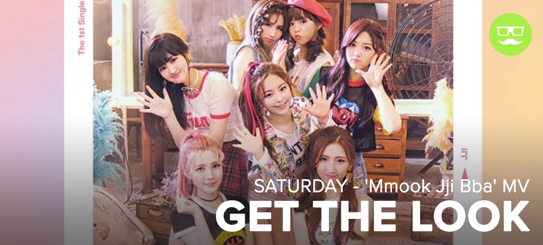 GTL, SATURDAY, Mmook Jji Bba, MV, Get the Look, Style, Sty;e Steal