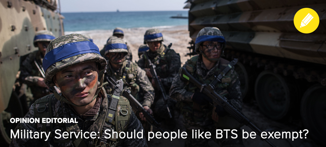 BTS, Military, Exemption, OP-ED, Editorial