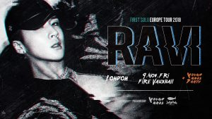 upcoming events, KCCUK, Ravi, VIXX, London, UK