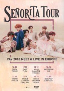 VAV, Europe, Senorita Tour, Meet & Greet, Berlin, Budapest