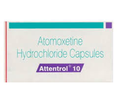 Buy Attentrol 40mg-Atomoxetine Hydrochloride Capsules