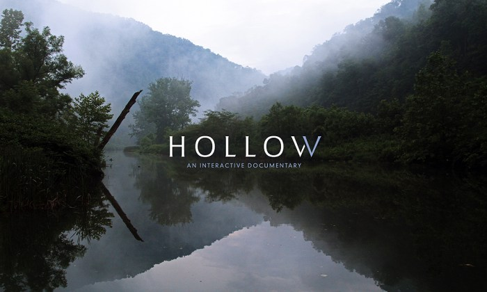 'Hollow' is an interactive documentary and community participatory project that examines the issues of shrinking in rural North America through the eyes and voices of those living in McDowell County, West Virginia. 'Hollow' combines video portraits, data visualizations, photography, soundscapes, community-generated content and grassroots mapping to bring these stories to life through an online experience.