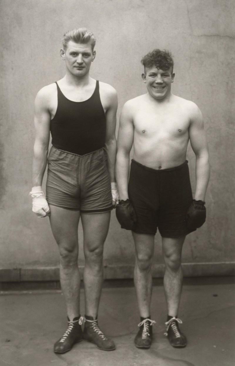 Boxers by August Sander © Die Photographische Sammlung:SK Stiftung Kultur - August Sander Archiv, Cologne