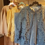 Men's robes and colonial suits for theatrical production